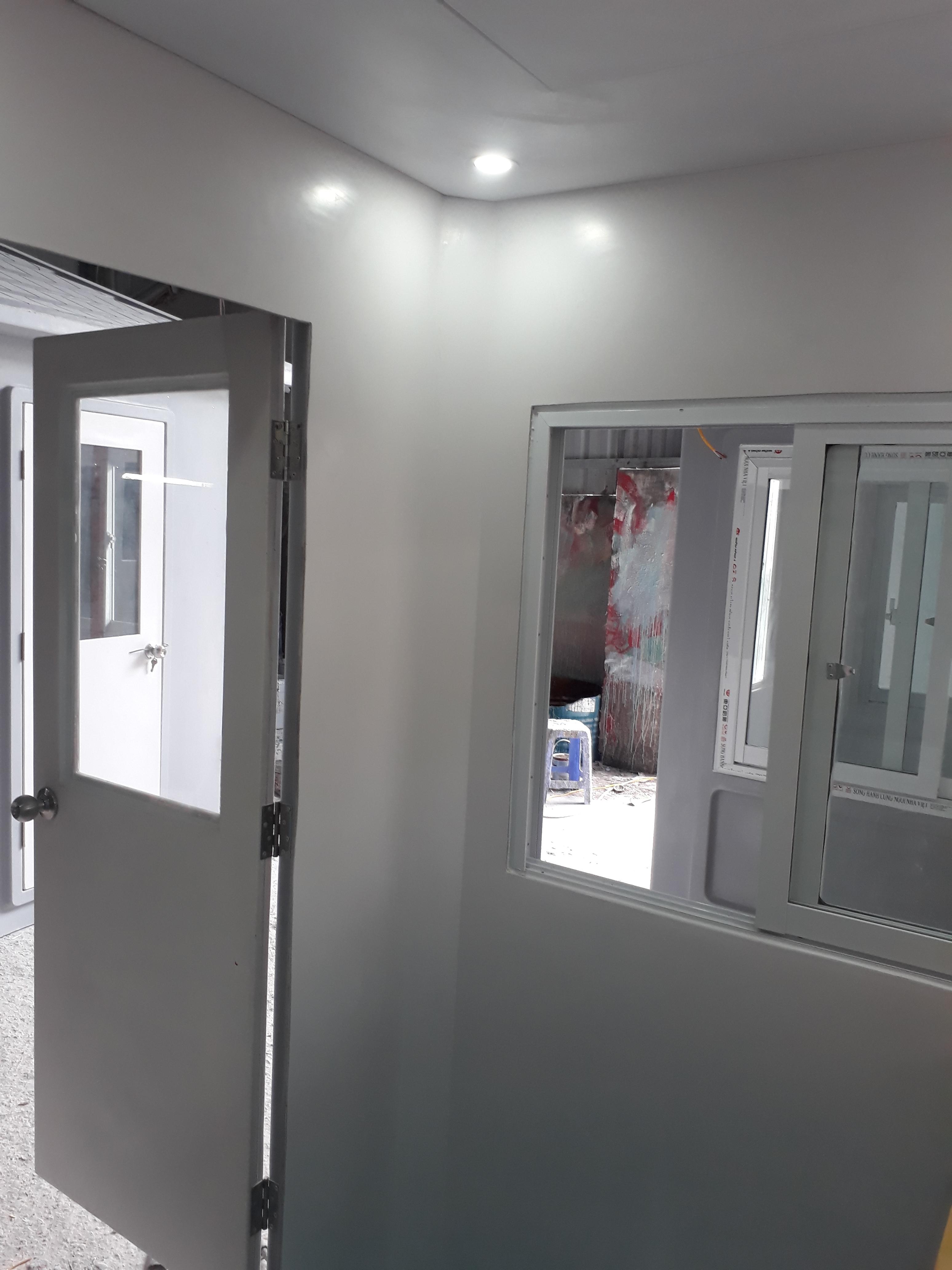 Chúng tôi sử dụng vật liệu composite cao cấp cho nội thất nhà bảo vệ
