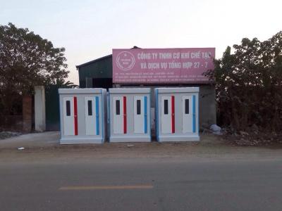 Cho thuê nhà vệ sinh  lưu động tại Nghệ An