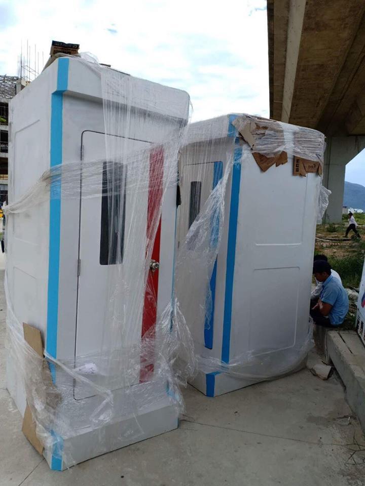 Nhà vệ sinh chất lượng cao cho thuê tại Đà Nẵng