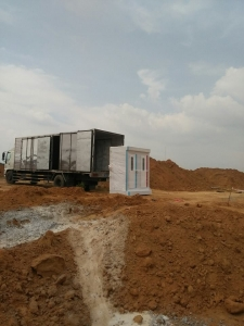 Cho thuê nhà vệ sinh di động tại Tây Nguyên