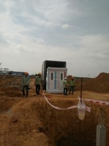 Giao nhà vệ sinh cho công trình tại Đăk nông