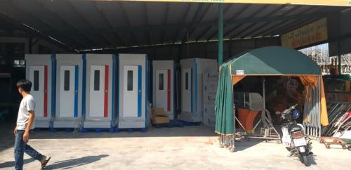 Nhà vệ sinh di động cho thuê tại Bạc Liêu và Sóc Trăng