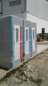 Nhà vệ sinh di động H17.1 được giao tại KCN Minh Hưng, Chơn Thành, Bình Phước