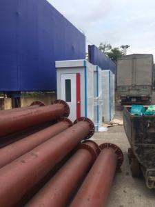 Nhà vệ sinh di động cho thuê tại Quảng Ninh