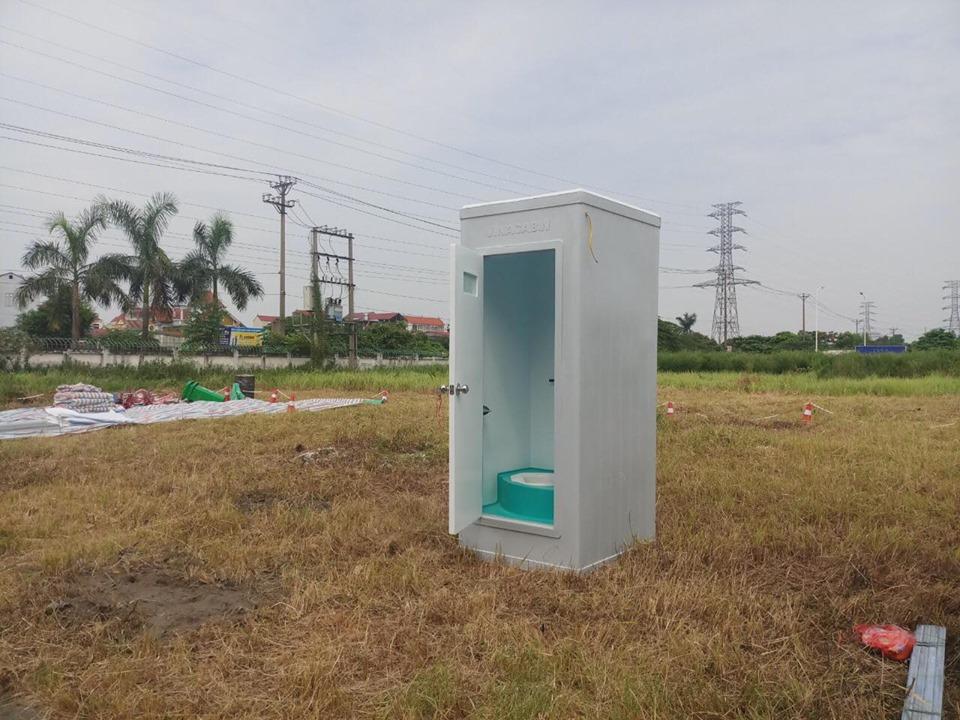 Cho thuê nhà vệ sinh di động tại Hà Tĩnh