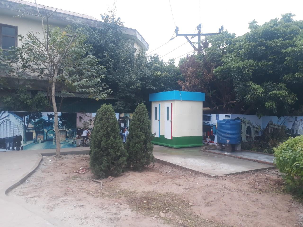 Lắp đặt nhà vệ sinh công cộng