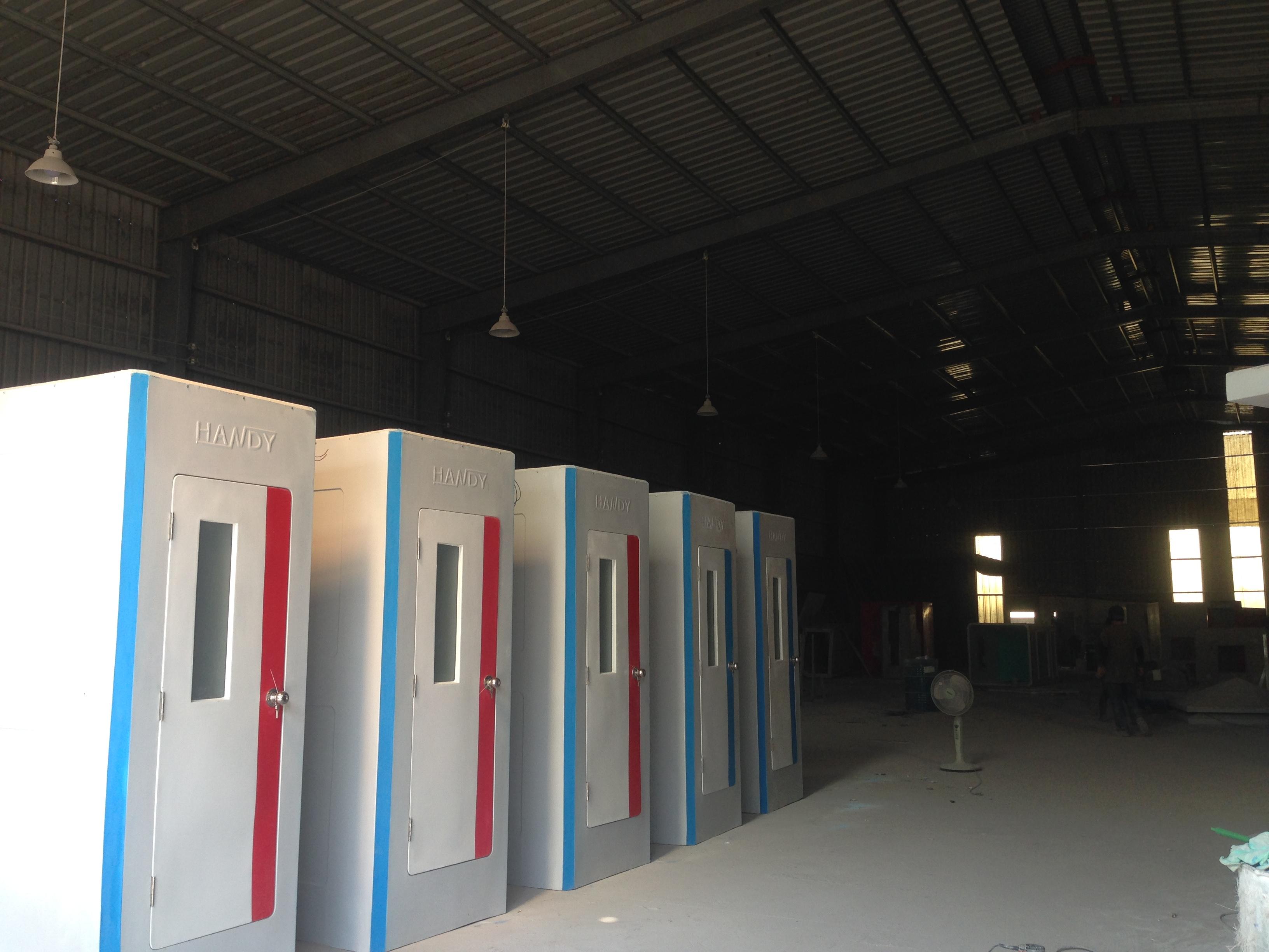 Cho thuê nhà vệ sinh di động tại Bình Thuận