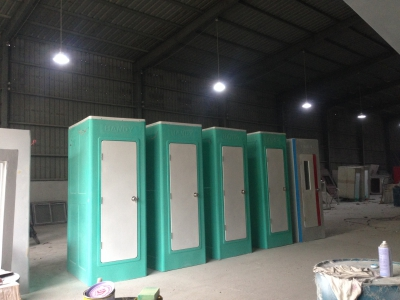 Cho thuê nhà vệ sinh công trình tại Quảng Ngãi