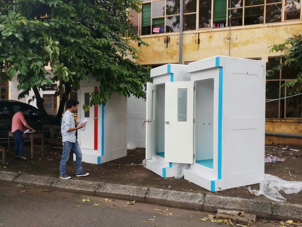 Nhà vệ sinh di động chuân 5 sao cho thuê tại Hà Nội