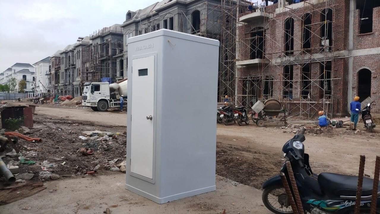 Nhà vệ sinh di động phục vụ thi công
