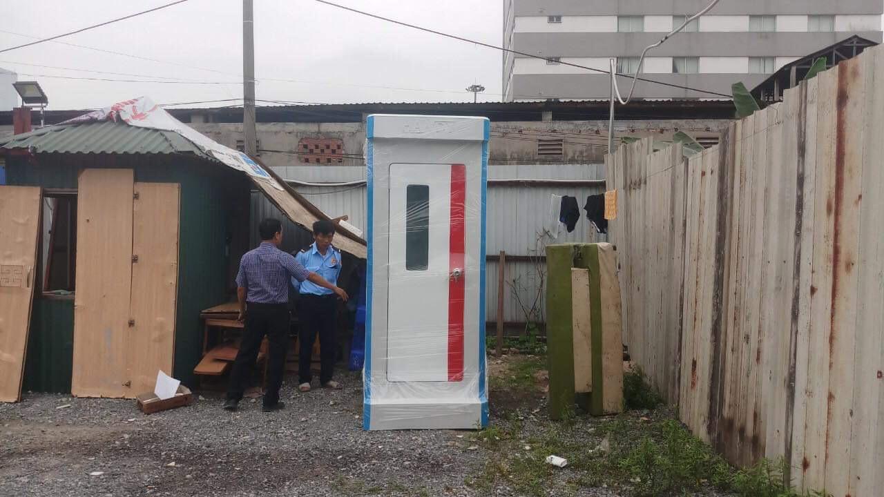 Cho thuê nhà vệ sinh di động tại Điện Biên