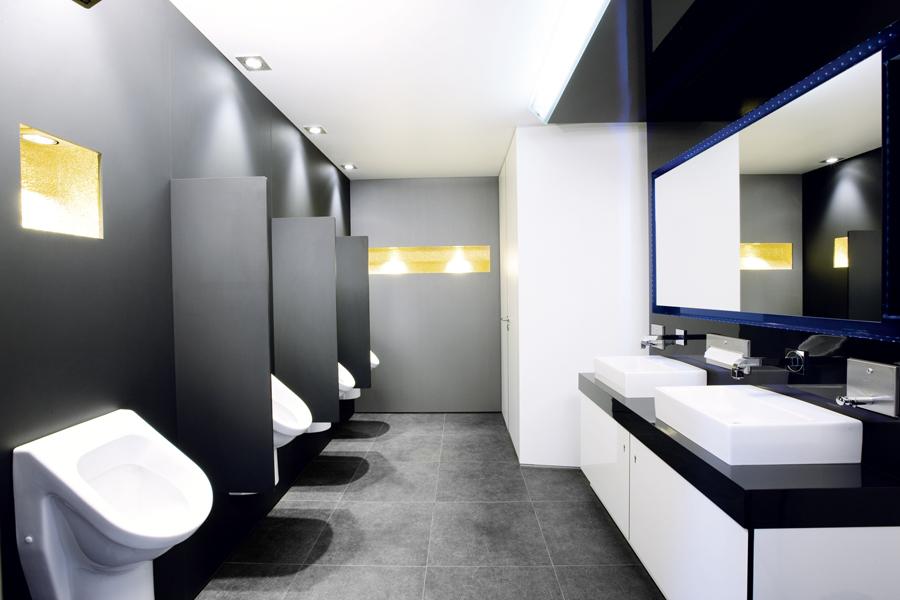 Nội thất nhà vệ sinh công cộng cao cấp