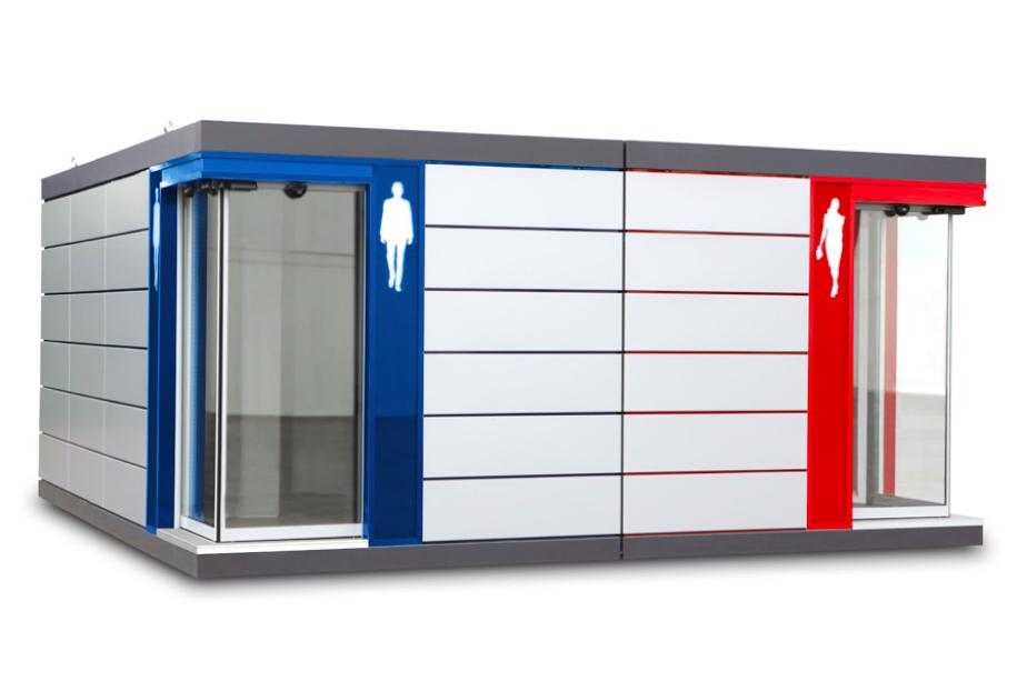 Nhà vệ sinh công cộng đô thị