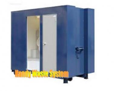 Nhà vệ sinh lưu động buồng đôi