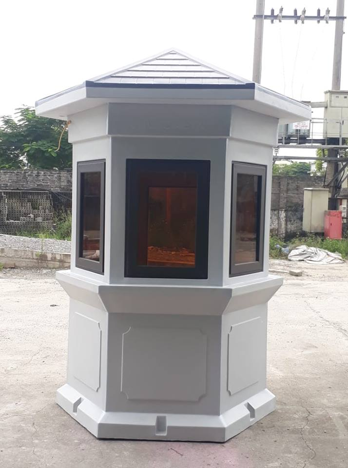 Nhà bảo vệ composite hình lục giác