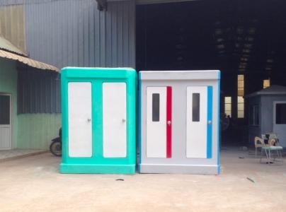 Nhà vệ sinh di động đôi Handy và Vinacabin