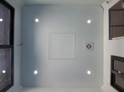 Đèn dowlight âm trần 4 góc