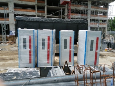 Sản phẩm nhà vệ sinh di động H17.1X có kích thước cabin lớn hơn và dung tích các bể chứa lớn hơn