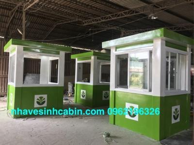 Cabin bảo vệ giá rẻ sản xuất riêng