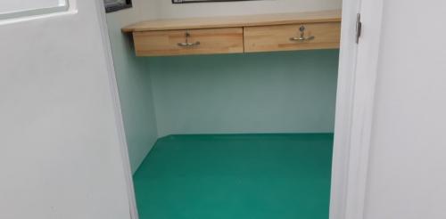 Sàn đúc liên ốp nội thất
