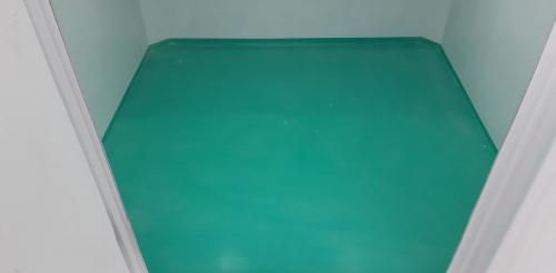 Sàn composite đúc liên thân với nội thất