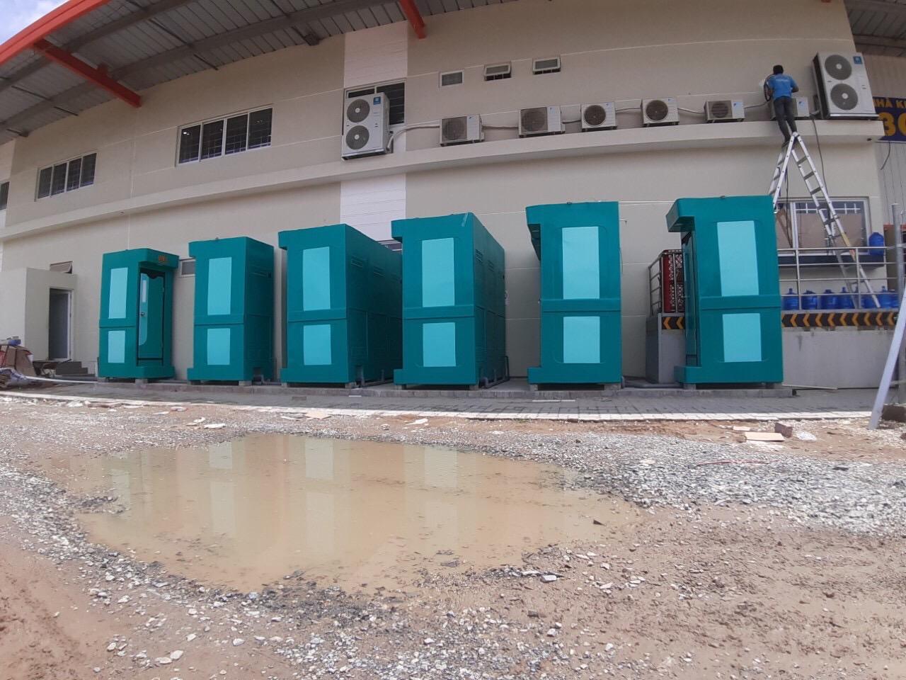 Cho thuê nhà vệ sinh di động tại Đồng Nai