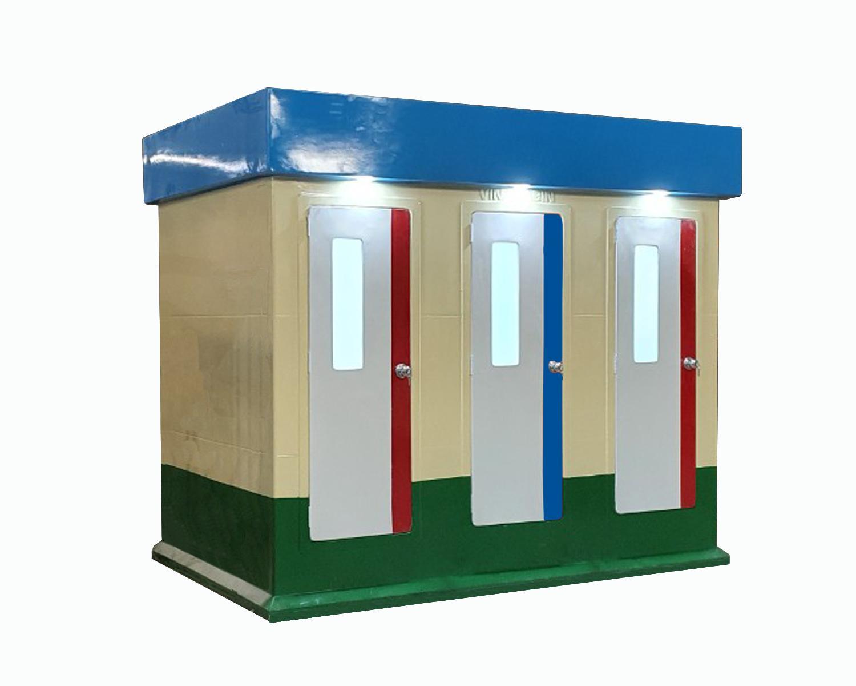 Nhà tắm di động 3 cabin