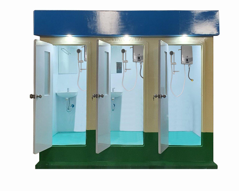 Nhà tắm công cộng 3 phòng