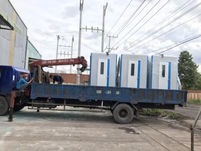 Nhà vệ sinh composite cho bệnh viện dã chiến