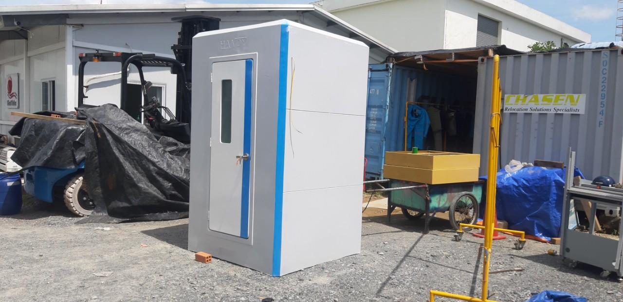 Nhà vệ sinh di động chuyên cho BV dã chiến